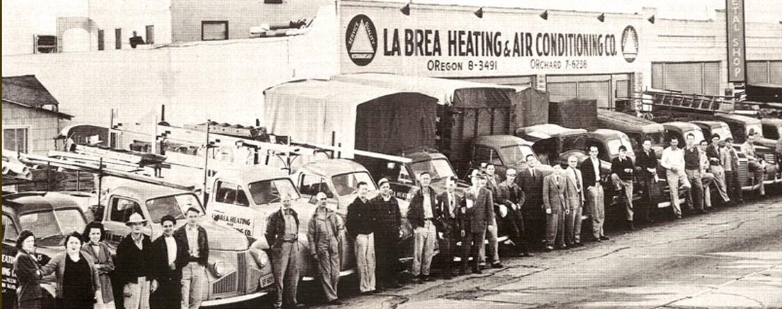 La Brea Air History