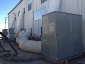 Temporary 40-50 Ton Large Air Handler