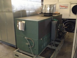 Temporary Large Hot Water Generator HWG