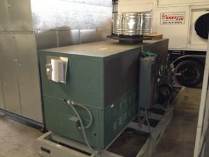 Temporary Large Hot Water Generator HWG
