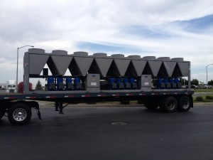 Temporary 300 Ton Large Air Cooled Chiller Rental