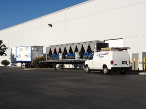 Warehouse Cooling - 300 Ton Chiller