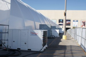 Special Events with 20 Ton Packaged Air Conditioning Units