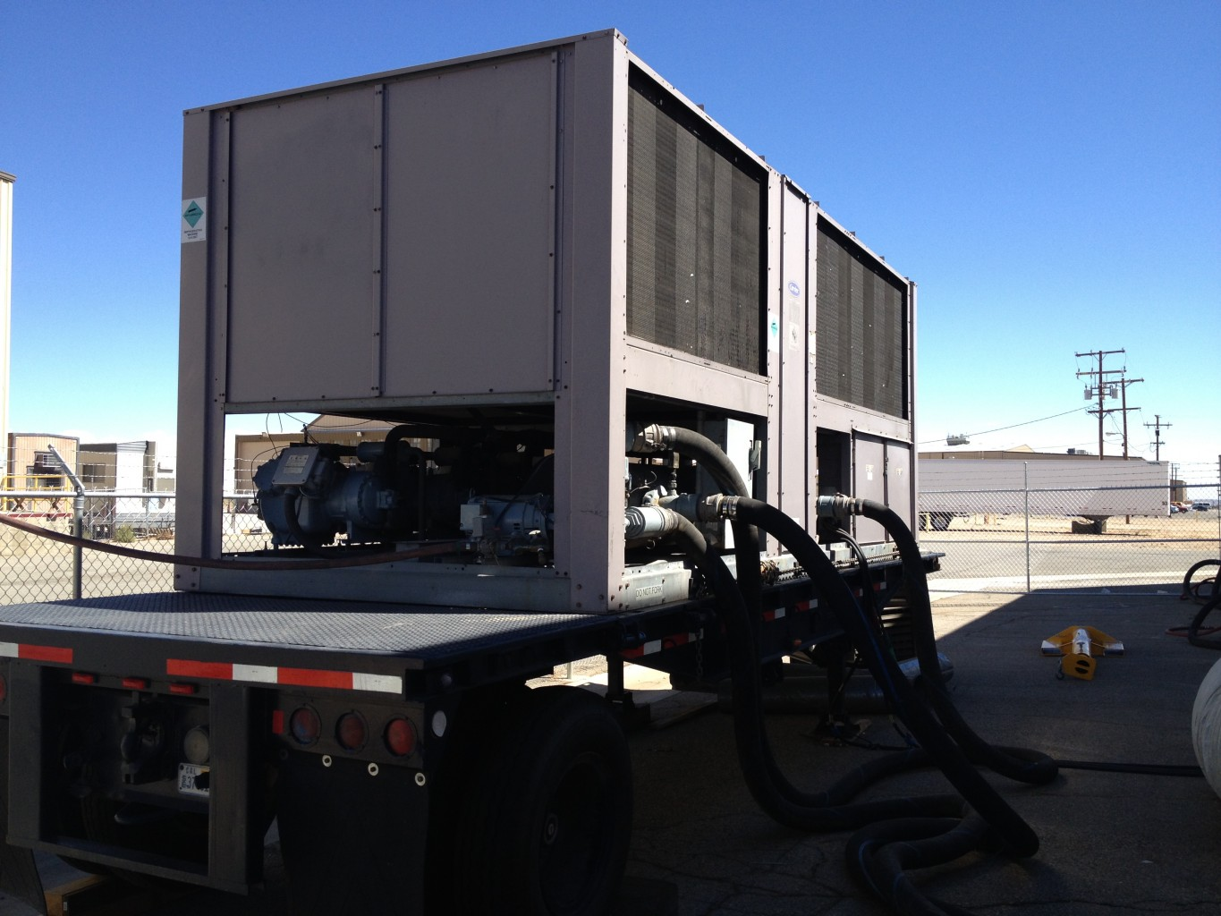 Temporary 125 ton Air Cooled Chiller