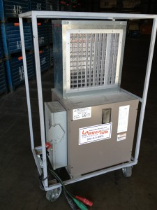 13 KW-30KW Portable Cart Electric Heater