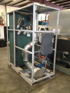 Medium Vertical Hot Water Generators 1 MMBTUH
