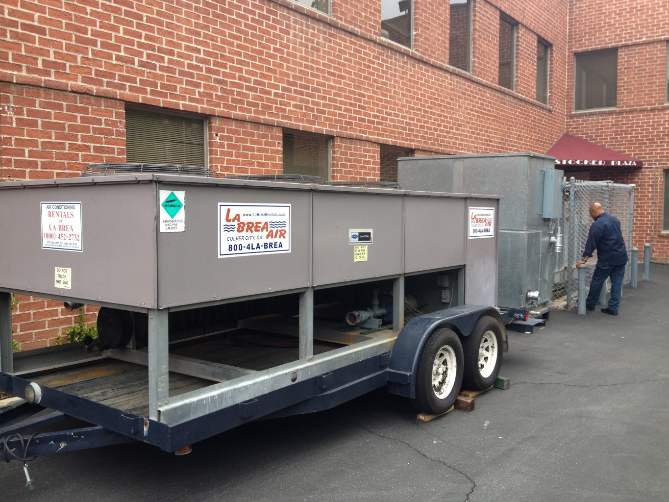 25 Ton Air Cooled Chiller