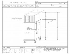 Emergency 30 Kilowatt Electric Heater